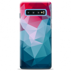 "Samsung Galaxy S10 silicone phone case with unique design 1.0 mm ""u-case Airskin Pattern 8 design"""