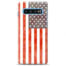 "Samsung Galaxy S10 silicone phone case with unique design 1.0 mm ""u-case Airskin USA design"""