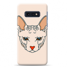 """Samsung Galaxy S10e silicone phone case with unique design 1.0 mm """"u-case Airskin Kato design"""""""