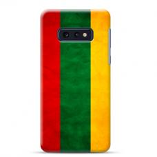 """Samsung Galaxy S10e silicone phone case with unique design 1.0 mm """"u-case Airskin Lietuva design"""""""
