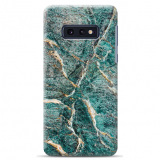 "Samsung Galaxy S10e silicone phone case with unique design 1.0 mm ""u-case Airskin Marble 1 design"""