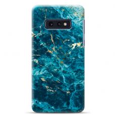 "Samsung Galaxy S10e silicone phone case with unique design 1.0 mm ""u-case Airskin Marble 2 design"""