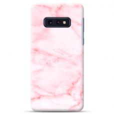 "Samsung Galaxy S10e silicone phone case with unique design 1.0 mm ""u-case Airskin Marble 5 design"""