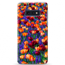 "Samsung Galaxy S10e silicone phone case with unique design 1.0 mm ""u-case Airskin Nature 2 design"""