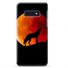 "Samsung Galaxy S10e silicone phone case with unique design 1.0 mm ""u-case Airskin Nature 3 design"""