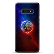 "Samsung Galaxy S10e silicone phone case with unique design 1.0 mm ""u-case Airskin Nature 4 design"""