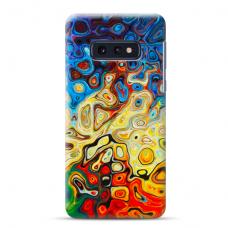"""Samsung Galaxy S10e Unique Silicone Case 1.0 mm """"u-case Airskin Pattern 1 design"""""""