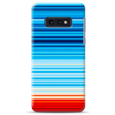 "Samsung Galaxy S10e silicone phone case with unique design 1.0 mm ""u-case Airskin Pattern 2 design"""