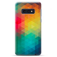 "Samsung Galaxy S10e silicone phone case with unique design 1.0 mm ""u-case Airskin Pattern 3 design"""