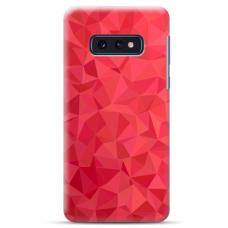 "Samsung Galaxy S10e silicone phone case with unique design 1.0 mm ""u-case Airskin Pattern 6 design"""