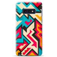 "Samsung Galaxy S10e silicone phone case with unique design 1.0 mm ""u-case Airskin Pattern 7 design"""