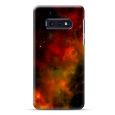 "Samsung Galaxy S10e silicone phone case with unique design 1.0 mm ""u-case Airskin Space 1 design"""