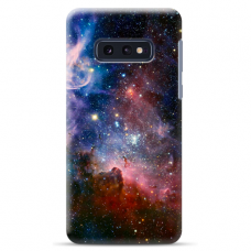 "Samsung Galaxy S10e silicone phone case with unique design 1.0 mm ""u-case Airskin Space 2 design"""