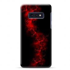 "Samsung Galaxy S10e silicone phone case with unique design 1.0 mm ""u-case Airskin Space 3 design"""