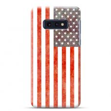 """Samsung Galaxy S10e silicone phone case with unique design 1.0 mm """"u-case Airskin USA design"""""""