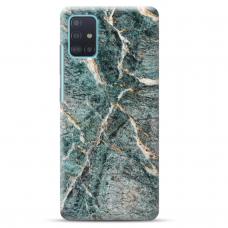 "Samsung Galaxy S20 FE Unique Silicone Case 1.0 mm ""u-case Airskin Marble 1 design"""