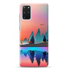 "Samsung Galaxy S20 plus Unique Silicone Case 1.0 mm ""u-case Airskin Nature 5 design"""