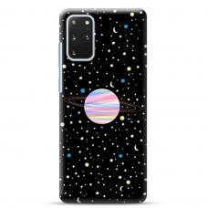 "Samsung Galaxy S20 plus Unique Silicone Case 1.0 mm ""u-case Airskin Planet design"""
