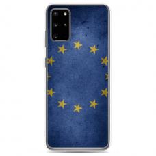"Samsung Galaxy S20 silicone phone case with unique design 1.0 mm ""u-case Airskin EU design"""