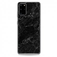 "Samsung Galaxy S20 silicone phone case with unique design 1.0 mm ""u-case Airskin Marble 4 design"""