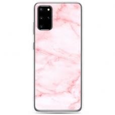 "Samsung Galaxy S20 silicone phone case with unique design 1.0 mm ""u-case Airskin Marble 5 design"""