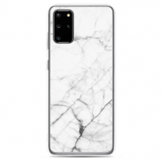 "Samsung Galaxy S20 silicone phone case with unique design 1.0 mm ""u-case Airskin Marble 6 design"""