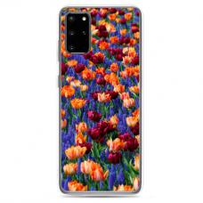"Samsung Galaxy S20 silicone phone case with unique design 1.0 mm ""u-case Airskin Nature 2 design"""