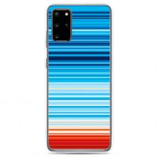 "Samsung Galaxy S20 silicone phone case with unique design 1.0 mm ""u-case Airskin Pattern 2 design"""