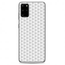 "Samsung Galaxy S20 silicone phone case with unique design 1.0 mm ""u-case Airskin Pattern 5 design"""