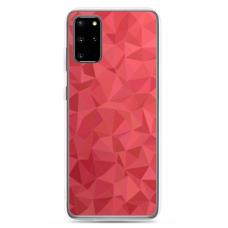 "Samsung Galaxy S20 silicone phone case with unique design 1.0 mm ""u-case Airskin Pattern 6 design"""