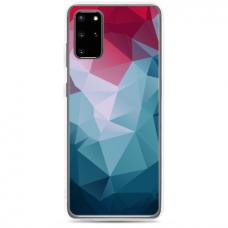 "Samsung Galaxy S20 silicone phone case with unique design 1.0 mm ""u-case Airskin Pattern 8 design"""