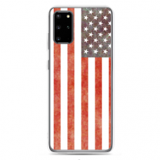 "Samsung Galaxy S20 silicone phone case with unique design 1.0 mm ""u-case Airskin USA design"""