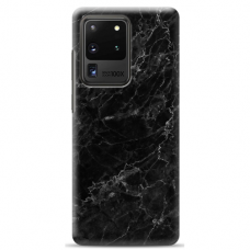 "Samsung Galaxy S20 ultra silicone phone case with unique design 1.0 mm ""u-case Airskin Marble 4 design"""
