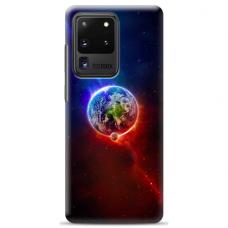 "Samsung Galaxy S20 ultra silikona tālruņa vāciņš ar unikālu dizainu 1,0 mm ""u-case Airskin Nature 4 design"""