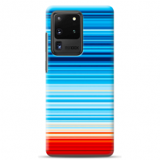 "Samsung Galaxy S20 ultra silicone phone case with unique design 1.0 mm ""u-case Airskin Pattern 2 design"""