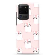 "Samsung Galaxy S20 ultra silikona tālruņa vāciņš ar unikālu dizainu 1,0 mm ""u-case Airskin Pink Kato design"""