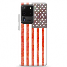 "Samsung Galaxy S20 ultra silicone phone case with unique design 1.0 mm ""u-case Airskin USA design"""