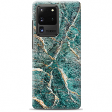 "Samsung Galaxy S20 ultra silicone phone case with unique design 1.0 mm ""u-case airskin Marble 1 design"""