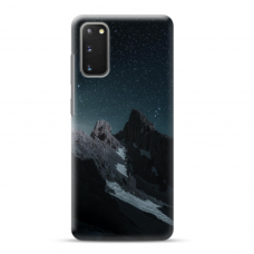 "Samsung Galaxy S20 Unique Silicone Case 1.0 mm ""u-case Airskin Mountains 1 design"""