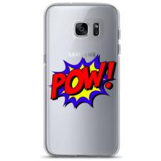 "Samsung Galaxy S6 edge TPU case with unique design 1.0 mm 1.0 mm ""u-case airskin POW design"""