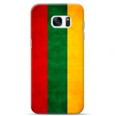 "Samsung Galaxy S6 edge TPU case with unique design 1.0 mm ""u-case Airskin Lietuva design"""