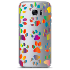 "Samsung Galaxy S6 TPU case with unique design 1.0 mm ""u-case Airskin PAW design"""