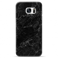 "Samsung Galaxy S7 Edge silicone phone case with unique design 1.0 mm ""u-case Airskin Marble 4 design"""