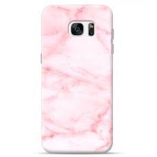 "Samsung Galaxy S7 edge silicone phone case with unique design 1.0 mm ""u-case Airskin Marble 5 design"""