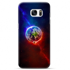 "Samsung Galaxy S7 Edge silicone phone case with unique design 1.0 mm ""u-case Airskin Nature 4 design"""
