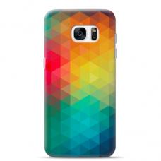 "Samsung Galaxy S7 edge silicone phone case with unique design 1.0 mm ""u-case Airskin Pattern 3 design"""