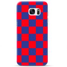 "Samsung Galaxy S7 edge silicone phone case with unique design 1.0 mm ""u-case Airskin Pattern 4 design"""