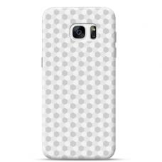 "Samsung Galaxy S7 edge silicone phone case with unique design 1.0 mm ""u-case Airskin Pattern 5 design"""