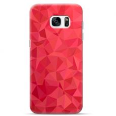 "Samsung Galaxy S7 edge silicone phone case with unique design 1.0 mm ""u-case Airskin Pattern 6 design"""