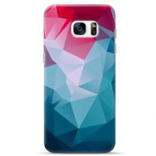 "Samsung Galaxy S7 edge silicone phone case with unique design 1.0 mm ""u-case Airskin Pattern 8 design"""